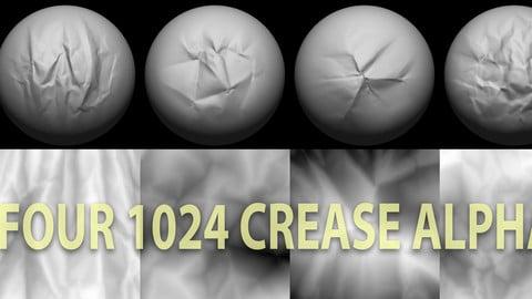 Zbrush cloth crease brushes