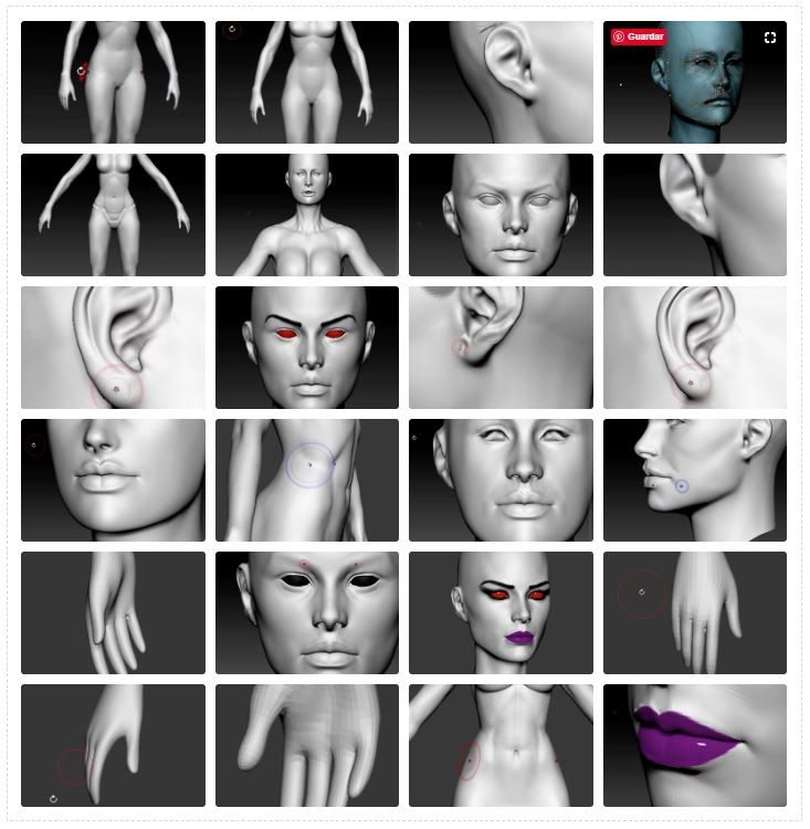 CG Makers - Sylvanas Vol  1 - Organic Body and Head Modeling