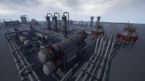 Industrial Vessels PACK UE4