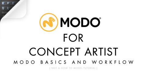 MODO For Concept Artist