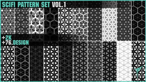+76 SCIFI PATTERN SET VOL.1