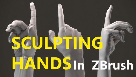 Sculpting Hands In Zbrush Premium Course