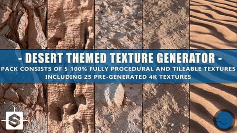 Desert Themed Texture Pack  + 4k textures