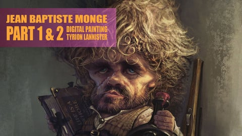 TYRION LANNISTER by JEAN-BAPTISTE MONGE - Digital Painting  TUTORIAL