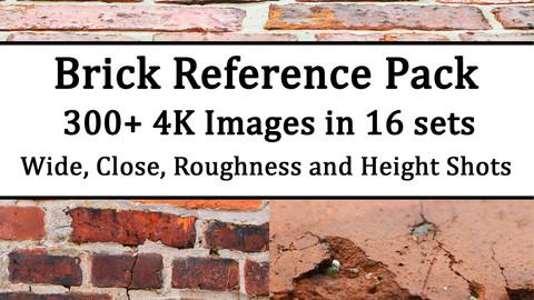 Bricks Bricks Bricks - 4K Texture Reference Pack