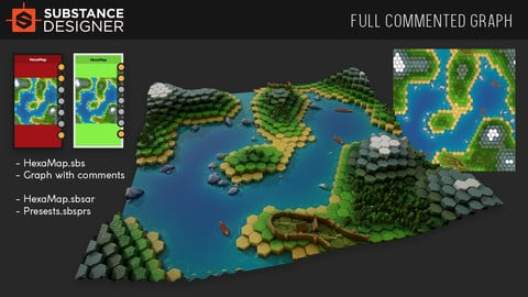 ArtStation - Procedural Board Game Map Generator, Simon Tartar