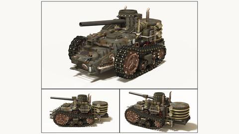 Steampunk Tank (by GMLAB)
