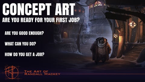 1.1 CONCEPT ART : Are you ready for your first job?