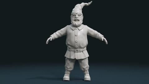 Gnome Sculpture