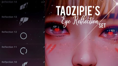 Taozipie's Eye Reflections for Procreate