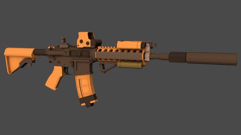 AR15 - Game Ready
