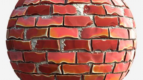 Stylized Brick - Adjustable Substance