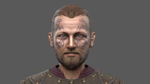 Harald - Viking - Lowpoly Stylized