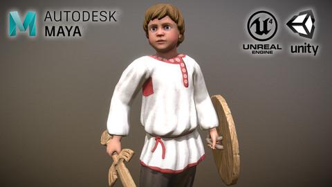 Peasant (Villager) Boy
