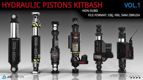Kitbash Hydraulic Pistons V1