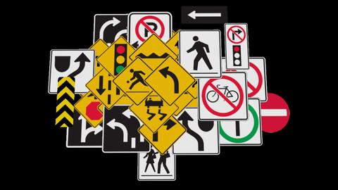 Street signs - Volume 1.0