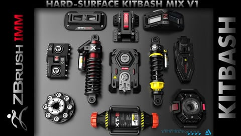 Kitbash Hard-Surface Mix V1