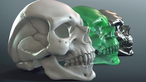 Skull Ring (3d-print)