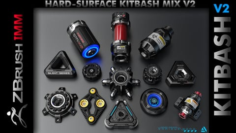 Kitbash Hard-Surface Mix V2