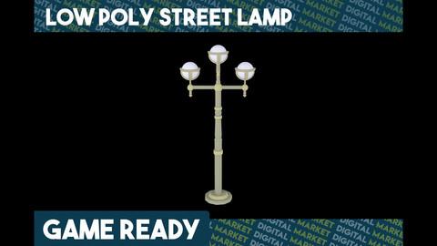 Street Lamp - Low Poly