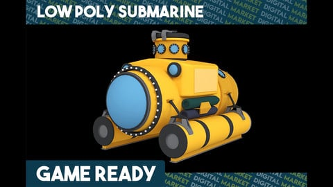 Submarine - Low Poly