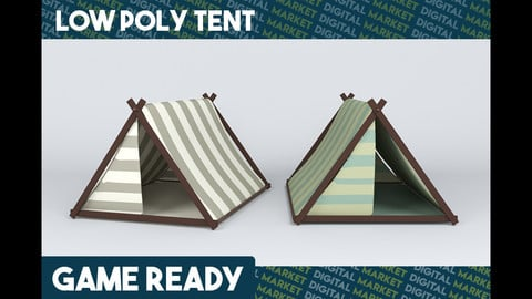 Tents - Low Poly
