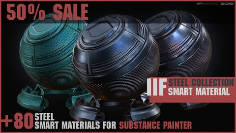 IIF STEEL COLLECTION \\ +80 Smart Materials SP