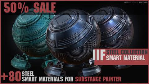 IIF STEEL COLLECTION \\ +80 Smart Materials SP