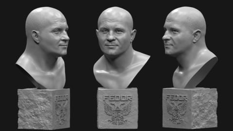Fyodor Vladimirovich Yemelyanenko's bust №2