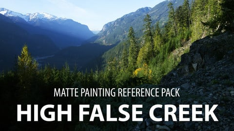 High False Creek Matte painting reference pack