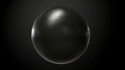 Metal Cast Iron Seamless PBR Texture