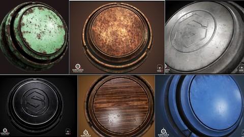 Smart Materials For Substance Painter Vol1.0
