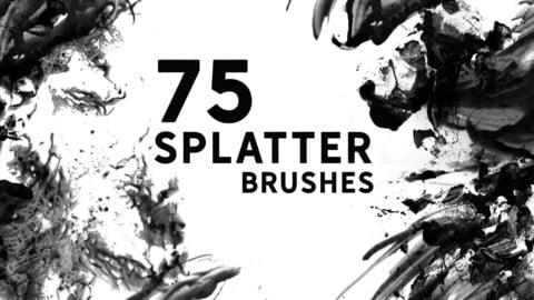 Splatter Photoshop Brushes