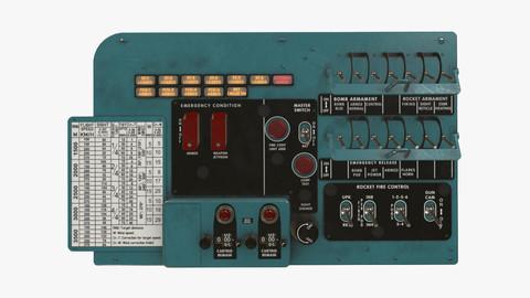Mi-8MT Mi-17MT Left Circuit Console