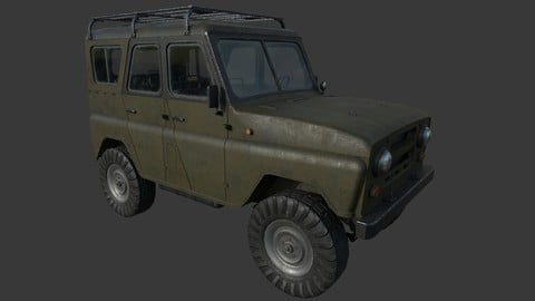 Off-Road Vehicle for UE4