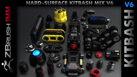 Kitbash Hard-Surface Mix V6