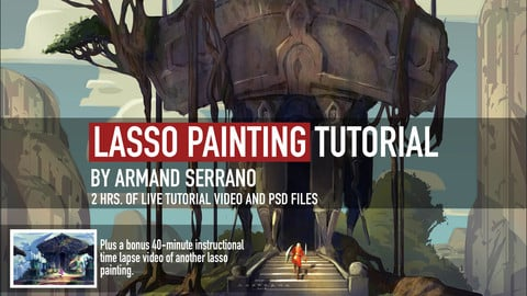 LASSO PAINTING TUTORIAL