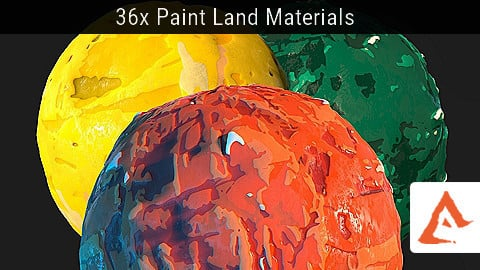 Paint Land Materials