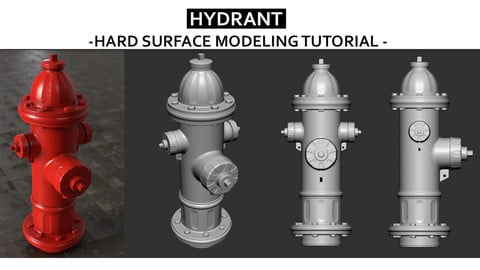Hydrant - Hard surface modeling Tutorial
