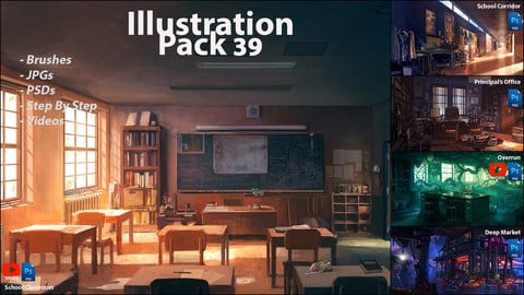 Illustration Pack 39 (not a stock asset)