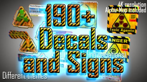 190 + Decals and Signs