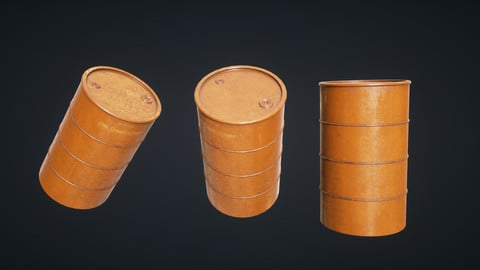 Mars Kitbash - Oil Container
