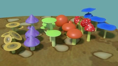 Cartoon Mushroom Pack