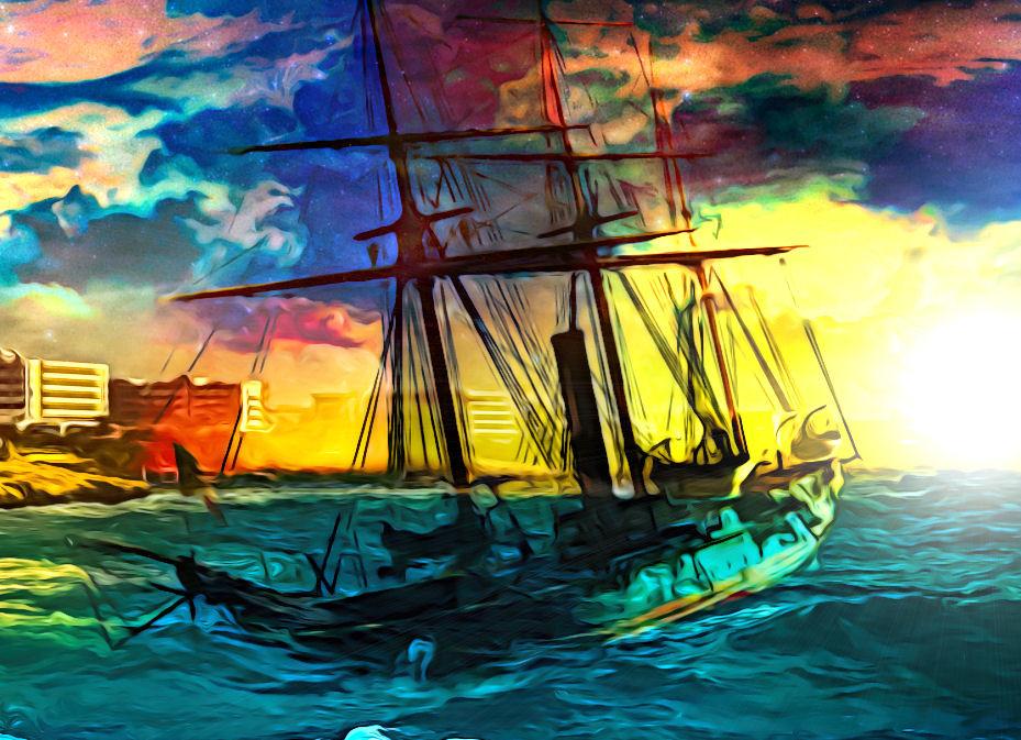 ArtStation - Turbulent Sea
