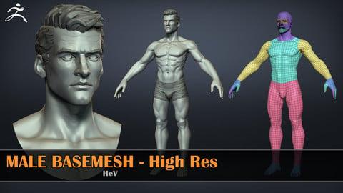 Male Basemesh - HighRes