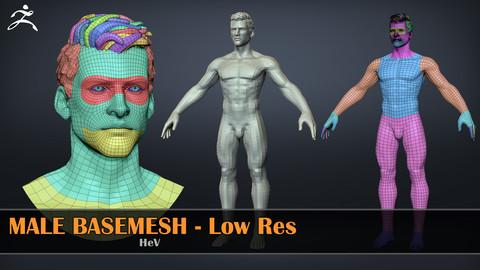 Male Basemesh - LowRes