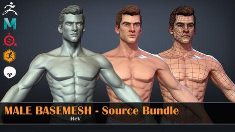 Male Basemesh - Source Bundle