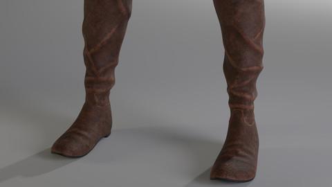Female Pirate Boots
