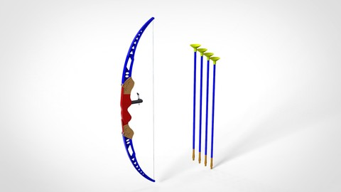Toy Bow And Arrow Dart Playset