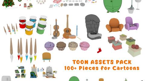 Cartoon Assets Pack